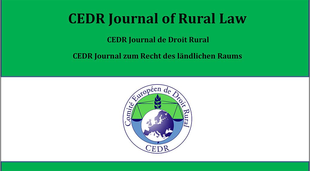 CEDR Journal of Rural Law