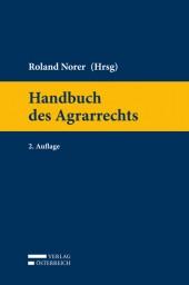 Handbuch des Agrarrechts – II ed.