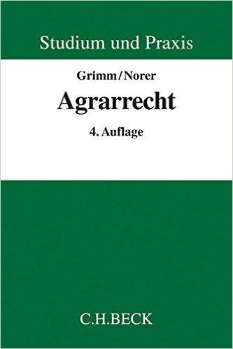 Agrarrecht, 4. Auflage
