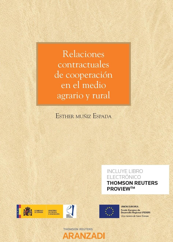 Relaciones contractuales de cooperación en el medio agrario y rural